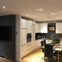 modernisierte Wohnküche